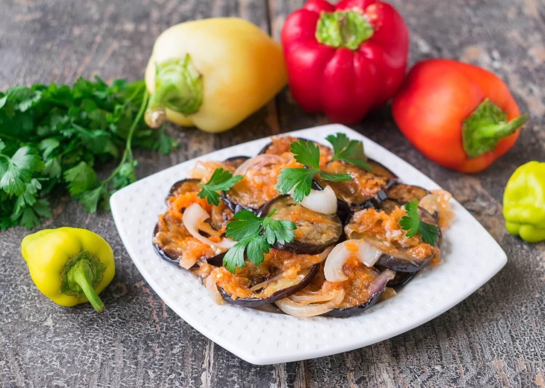 Korean eggplant with vegetables recipe photo niftyrecipe korean eggplant with vegetables forumfinder Gallery