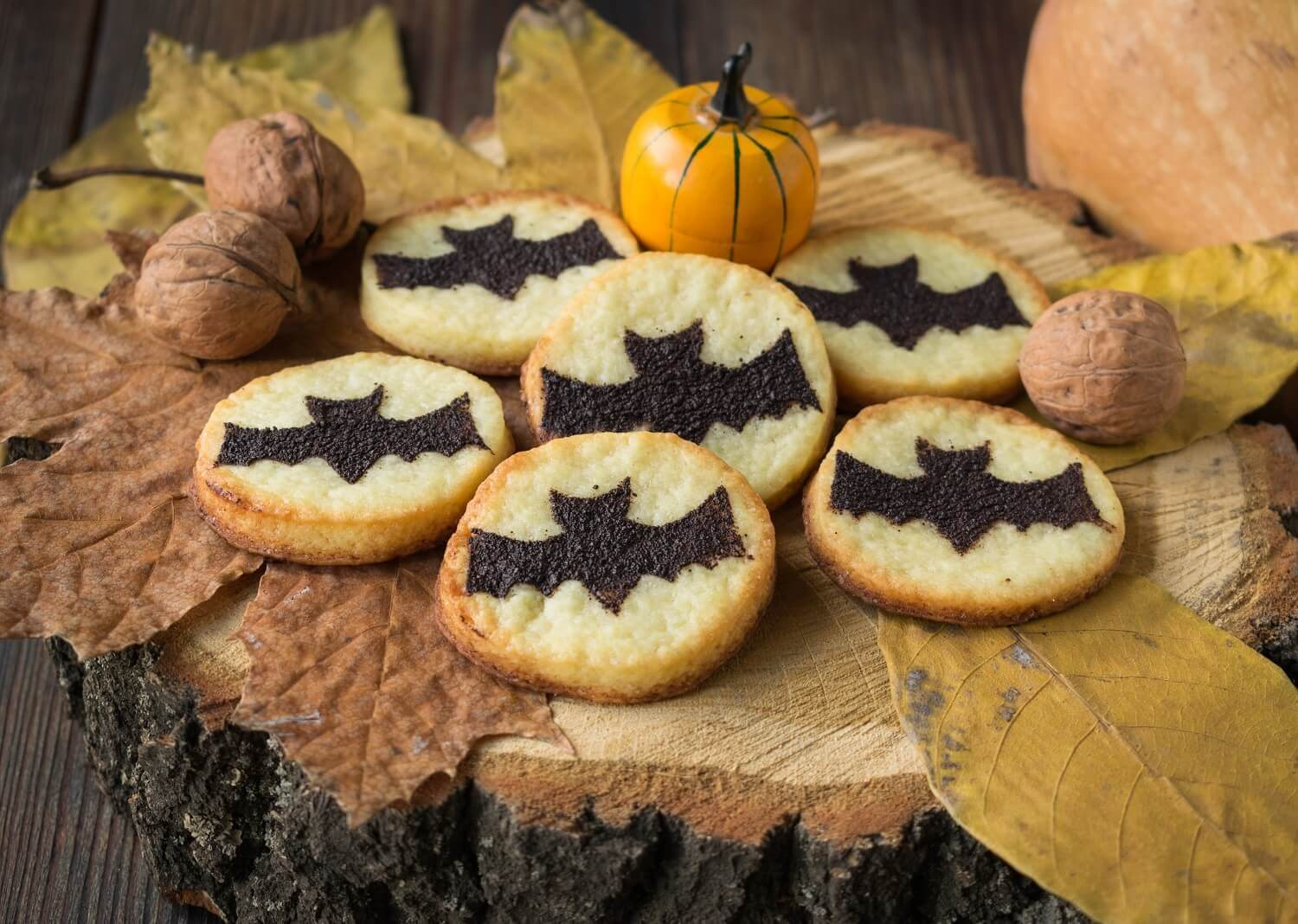 Halloween Bat Cookies