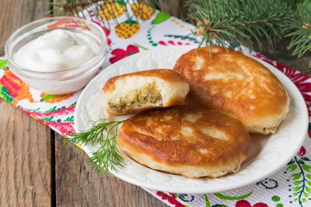 Russian Potato Piroshki