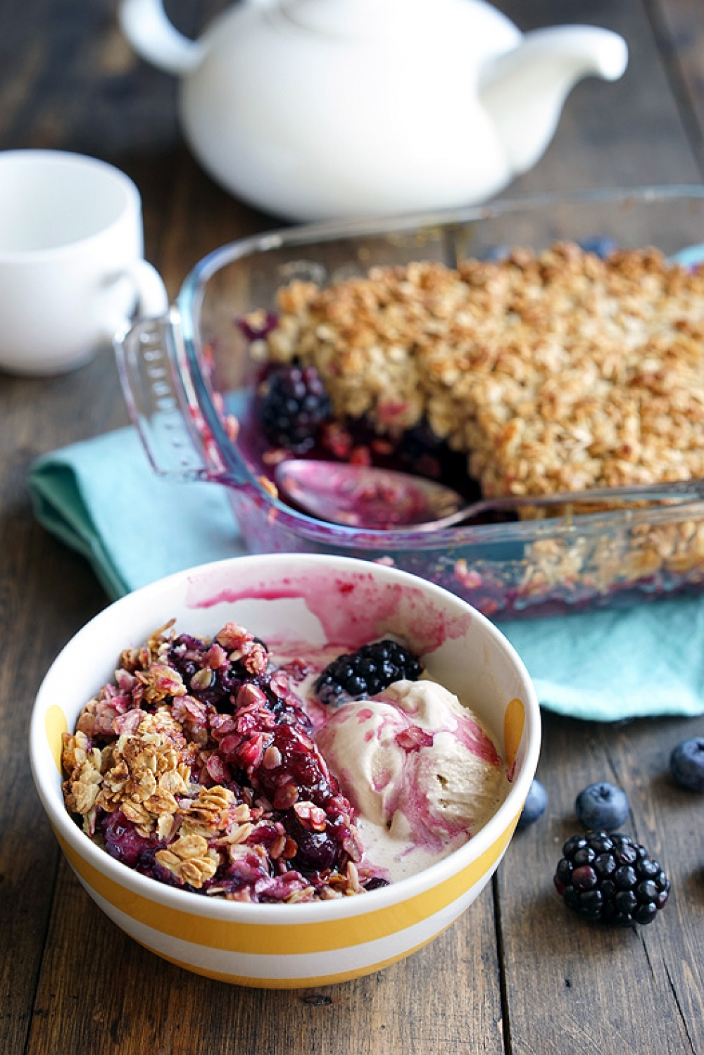 Berry Crumble for 20 minutes