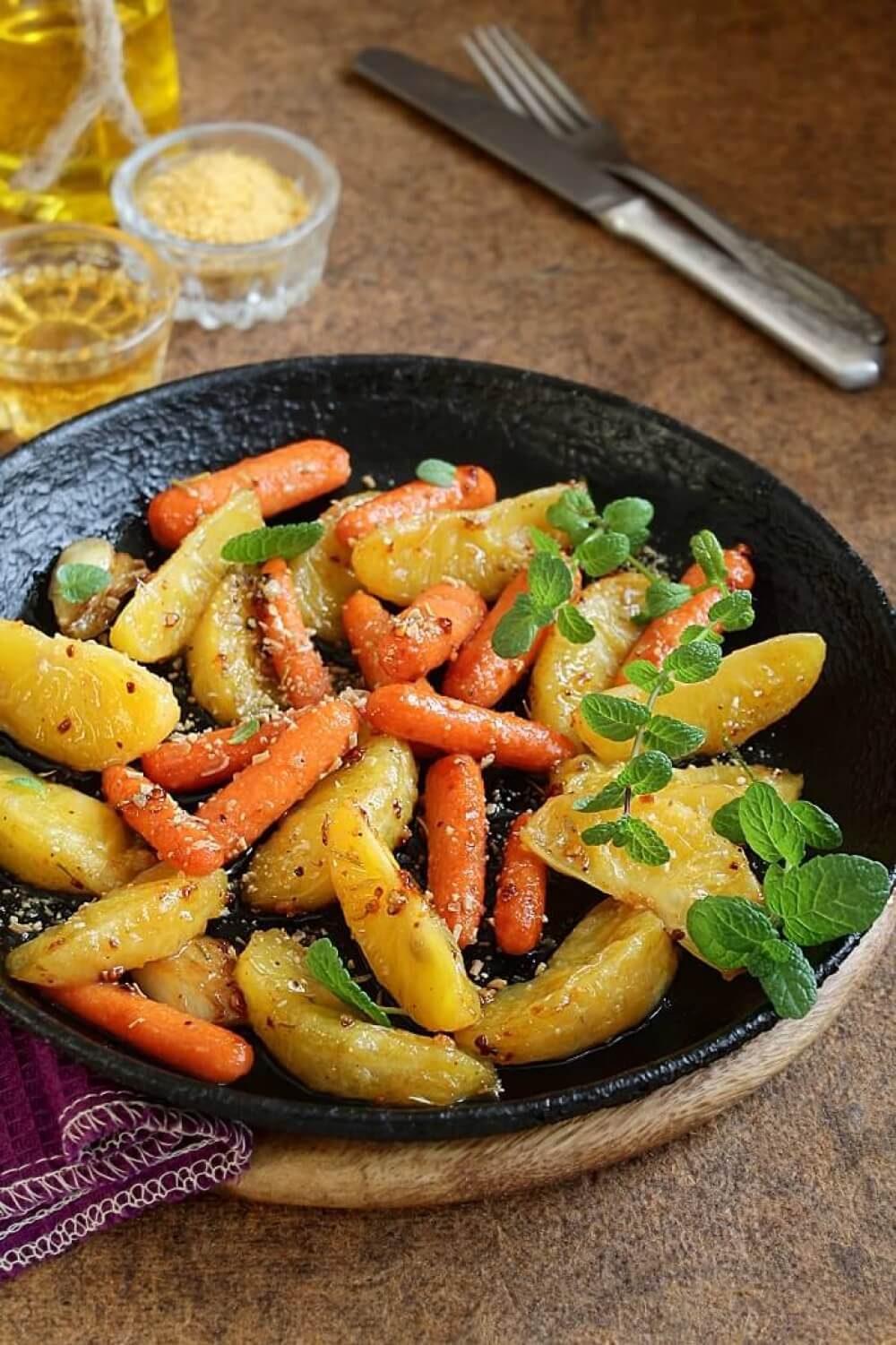Roasted Carrots with Orange