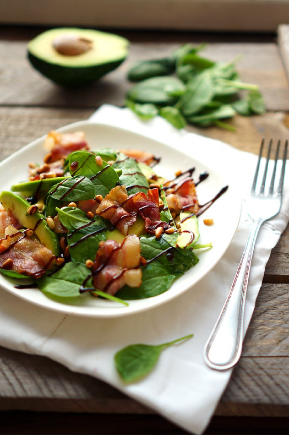 Bacon Avocado Salad From Jamie Oliver