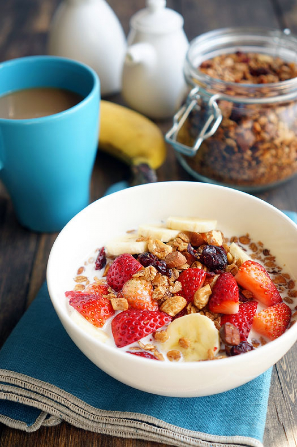 Granola  a perfect breakfast and not only