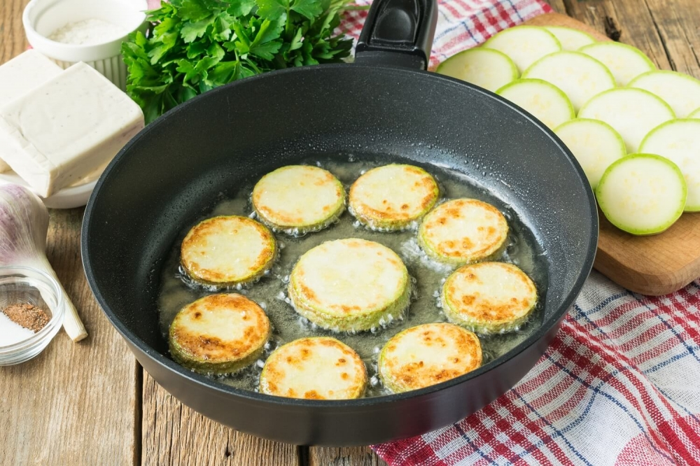 Cheese Fried Zucchini