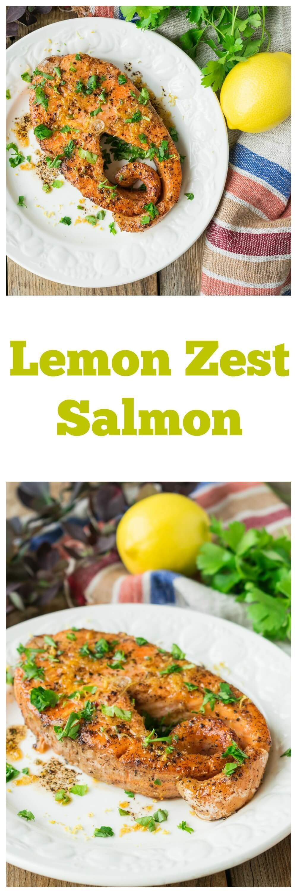 Lemon Zest Salmon