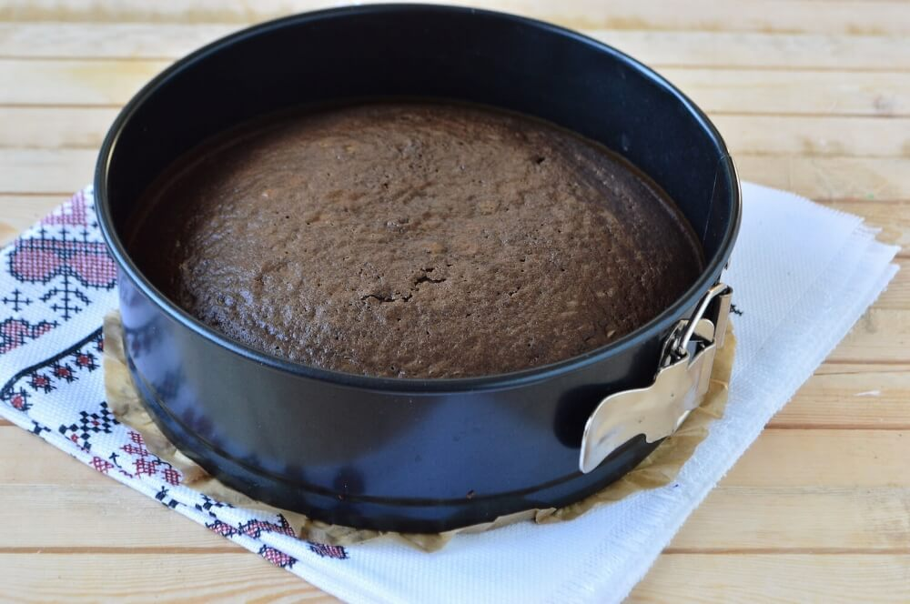 Chocolate Coffee Cake «Pele»