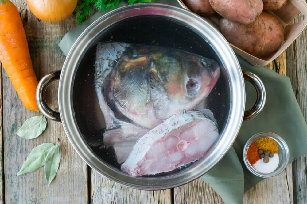 Silver Carp Fish Soup With Potatoes Recipe