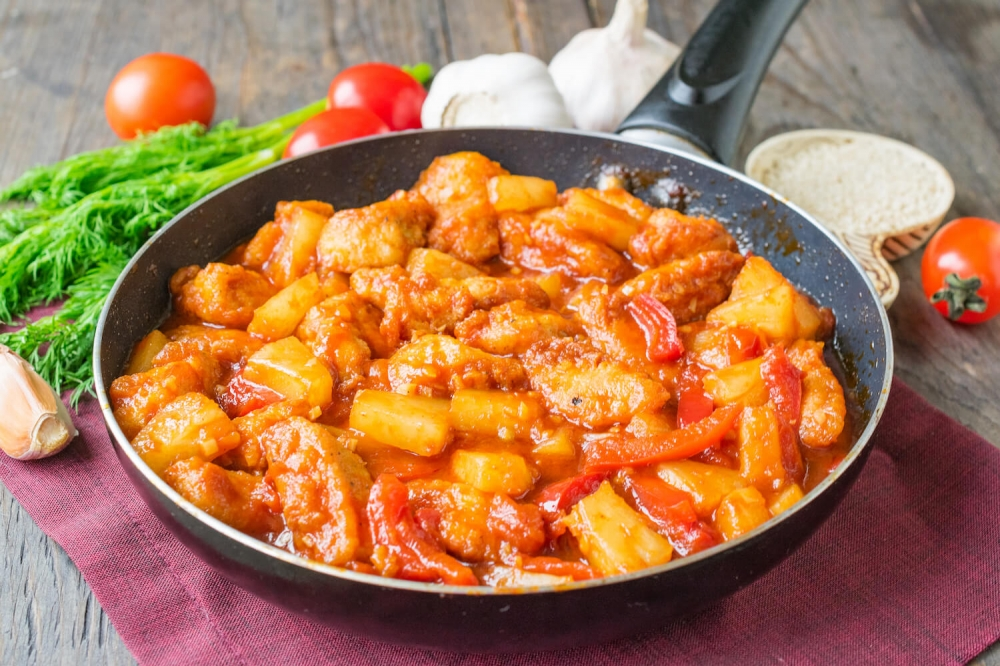 Pineapple Sweet-Sour Chicken