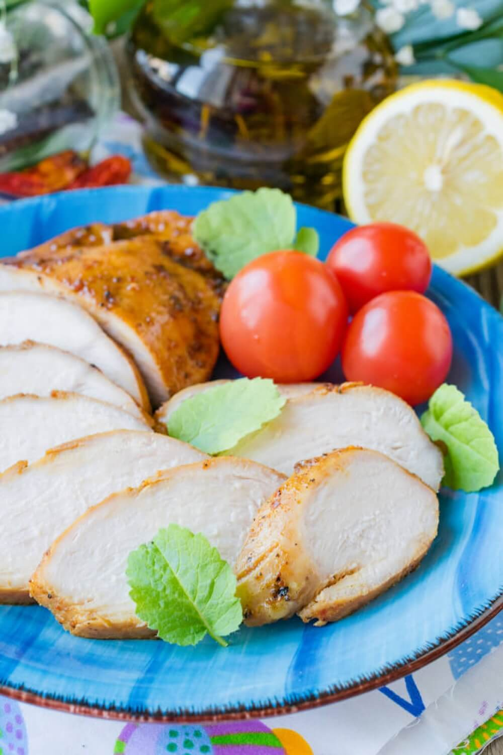 Simple Baked Chicken Breast