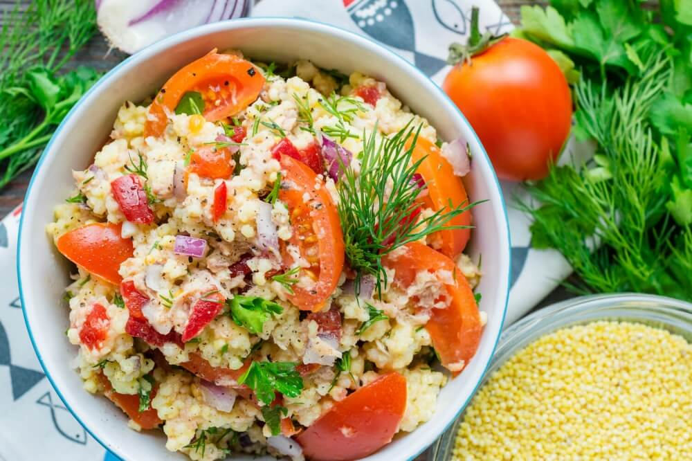 Couscous and Tuna Salad