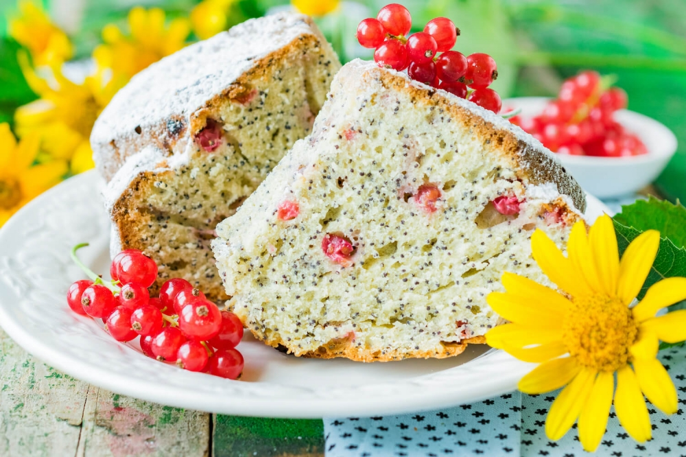 Red Currant Poppy Seed Pie