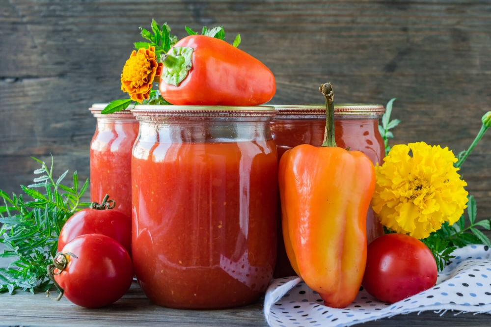 Tomato Juice with Bell Pepper