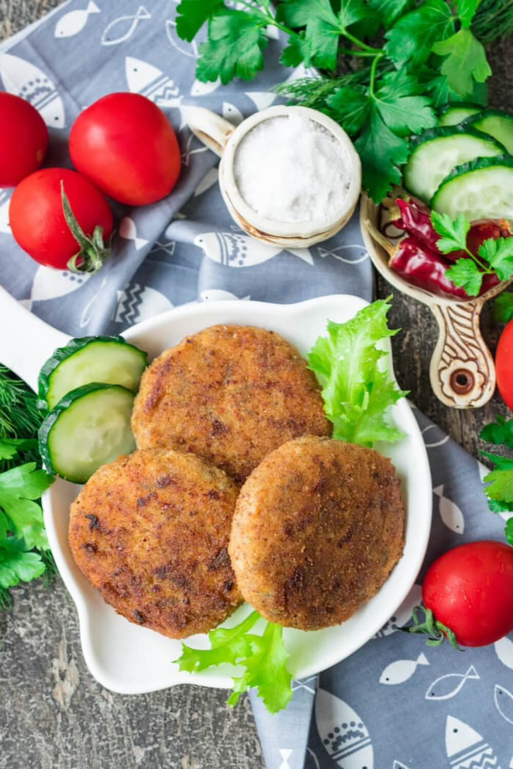 Cheese Fish Cakes