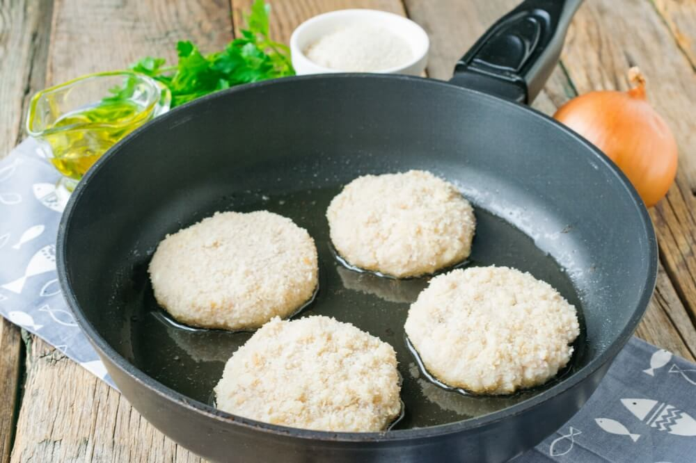Cottage Cheese Fish Cakes