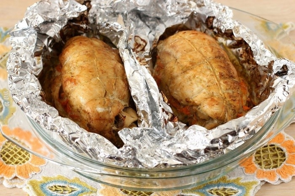 Spicy stuffed chicken breasts