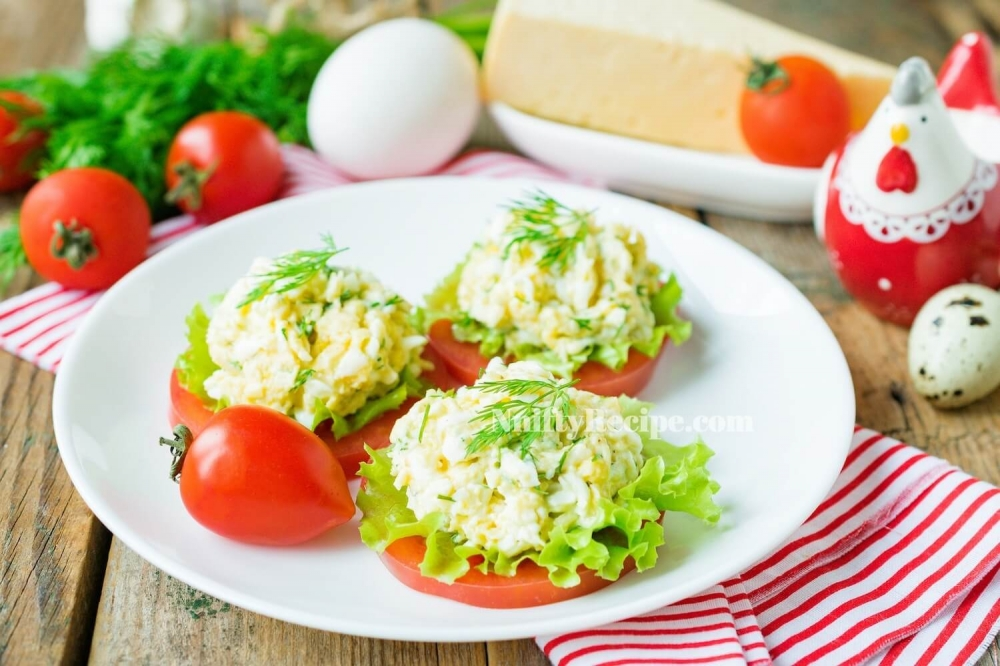 Cheese Egg Salad