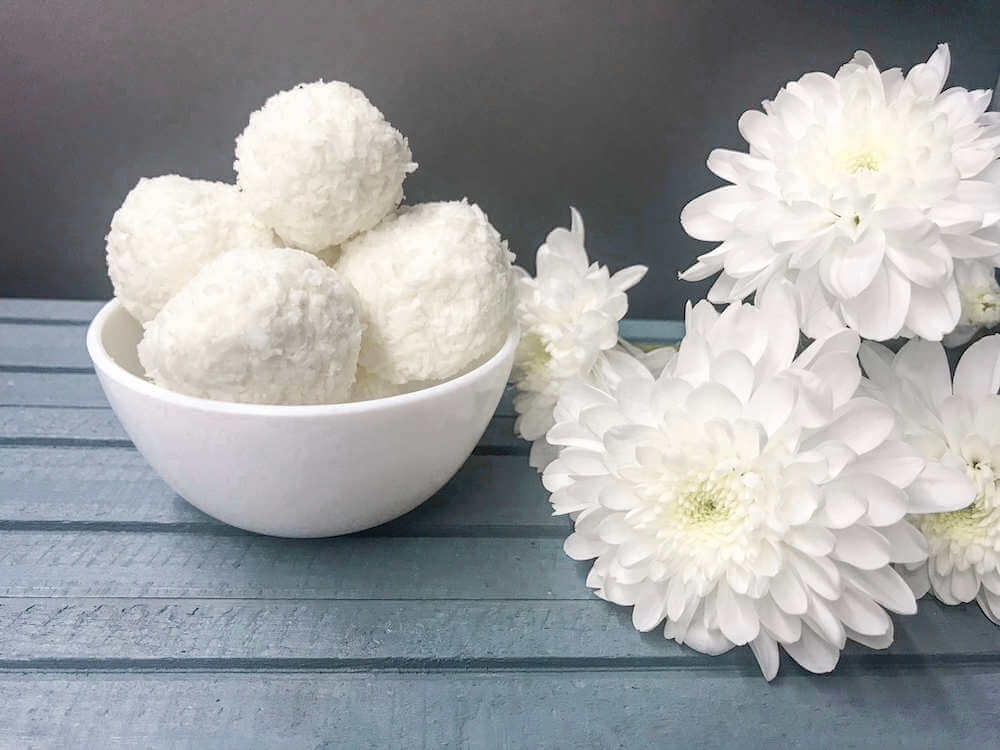 Cottage Cheese Coconut Raffaello