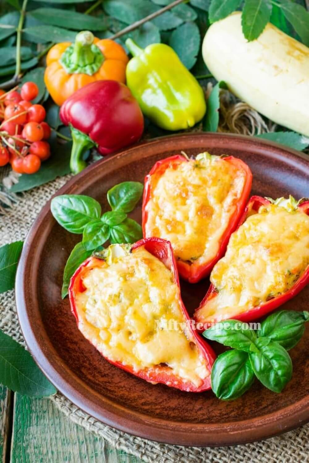 Stuffed Peppers in the Oven