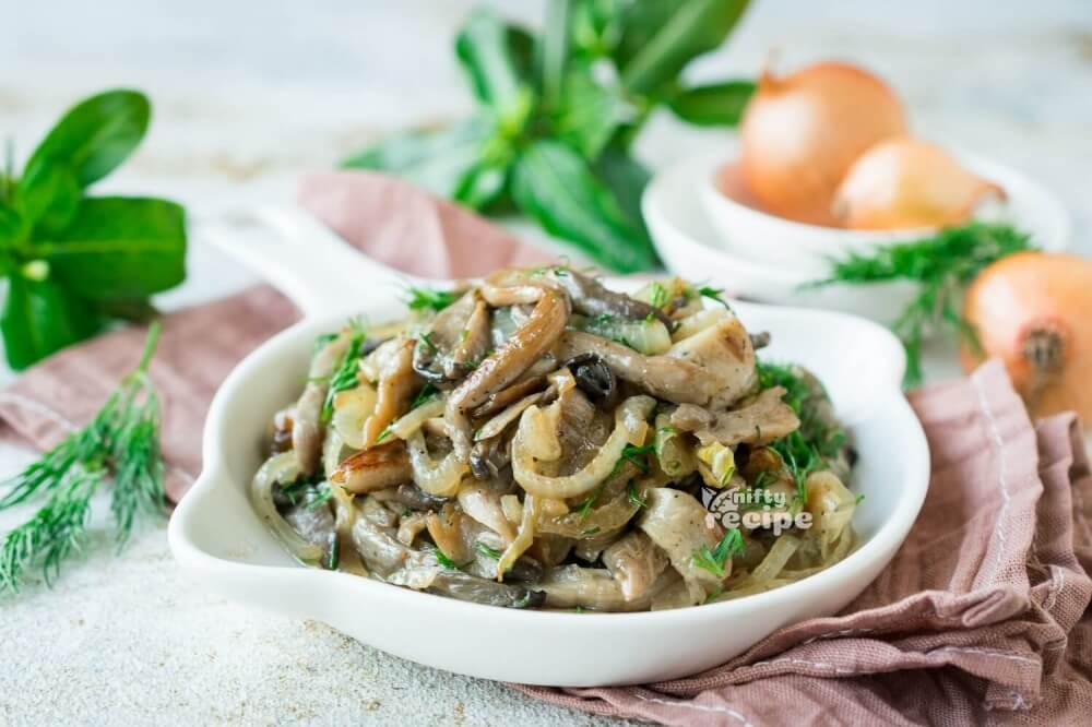 Pan Fried Oyster Mushrooms